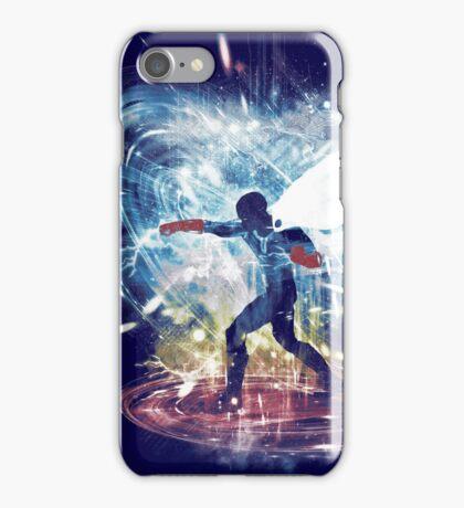 ok storm -rainbow version iPhone Case/Skin