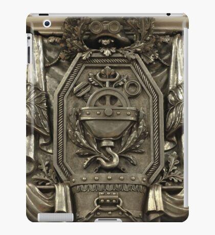 Soviet bas-reliefs on the Metro station iPad Case/Skin