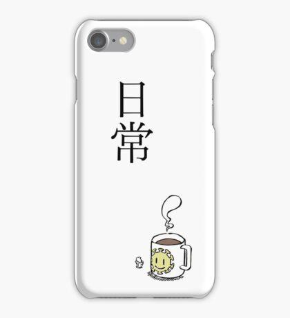 Nichijou title - UPDATED iPhone Case/Skin