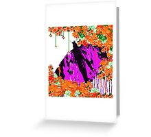 Autumn Butterfly In My Garden Greeting Card