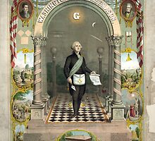 George Washington as a Freemason by Vintage Works