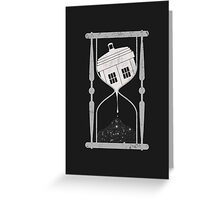 Spacetime Greeting Card