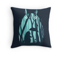 My Neighbor Totoro Throw Pillow