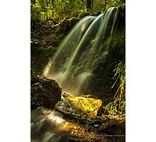 Summer Evening at the Falls Photographic Print