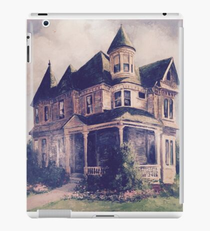 Victorian House Oil Painting iPad Case/Skin