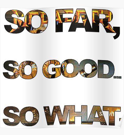 Megadeth So Far, So Good, So What ! Poster