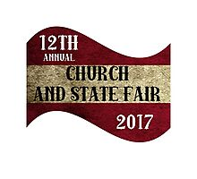 Church and State Fair| classic quotes  Photographic Print