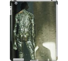A Naked Man and His Shadow (in a Window) iPad Case/Skin