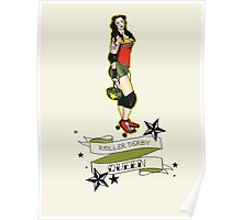 Sailor Jerry Derby Girl #2 Poster