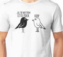Funny Little Rock Arkansas T-shirt - Cartoon Birds Unisex T-Shirt