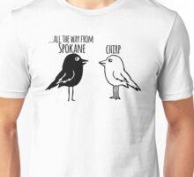 Funny Spokane Washington T-shirt - Cartoon Birds Unisex T-Shirt