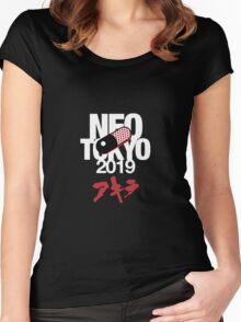 Akira - Neo Tokyo Women's Fitted Scoop T-Shirt