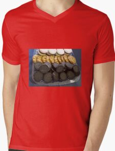Fancy Biscuits Mens V-Neck T-Shirt