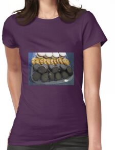 Fancy Biscuits Womens Fitted T-Shirt