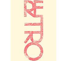 Retro Photographic Print