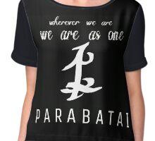 As One-Parabatai Chiffon Top