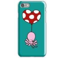 Heart Balloon Octopus iPhone Case/Skin