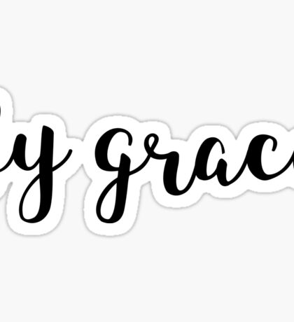 Ephesians 2:8 - By Grace Sticker