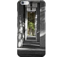Walkway under a Footpath in Canberra/ACT/Australia (2) iPhone Case/Skin