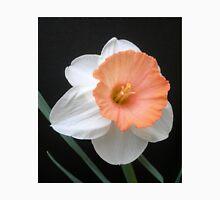 Soft Orange and White Daffodil Unisex T-Shirt