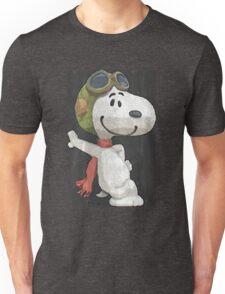 Snoopy aviador Unisex T-Shirt