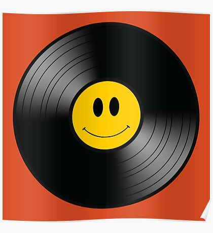 Happy Record Poster