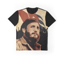 Fidel Castro Graphic T-Shirt