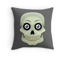 Skull Throw Pillow