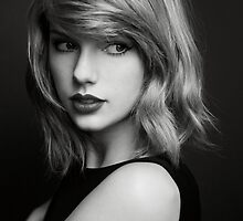 Taylor Swift - Black and White by GeraldGreen
