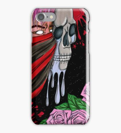what's behind my skull iPhone Case/Skin