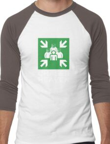ROBUST Chaser for bear heaven assembly white Men's Baseball ¾ T-Shirt