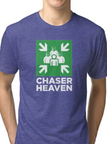 ROBUST Chaser for bear heaven assembly white Tri-blend T-Shirt