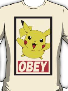 Obey Pikachu T-Shirt
