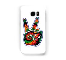 Tie-Dye Peace Sign Samsung Galaxy Case/Skin