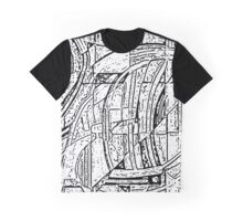Edinburgh Grey Scale Graphic T-Shirt