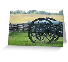 Union Cannons Greeting Card