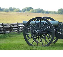 Union Cannons Photographic Print