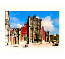 Mexico City - Metropolitan Tabernacle For the Cathedral Art Print