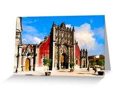 Mexico City - Metropolitan Tabernacle For the Cathedral Greeting Card