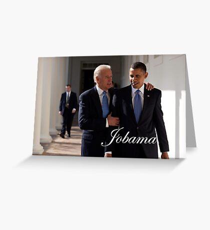Jobama Greeting Card