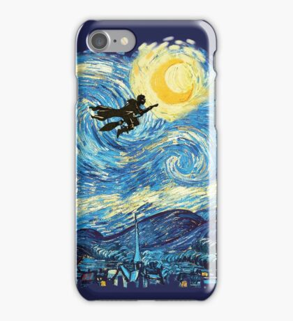 starry potter iPhone Case/Skin