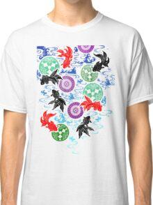 Kimono - Koi - White Classic T-Shirt
