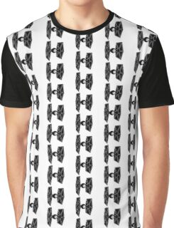 Tie Fighter Print  Graphic T-Shirt