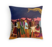 We're still flying Throw Pillow