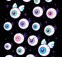 Kira!Kira! Eyeballs by JollyNihilist