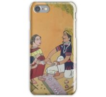 Bangles sale man and Village woman iPhone Case/Skin