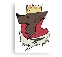 King Werewolf Canvas Print
