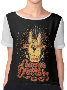 League of Letters Chiffon Top