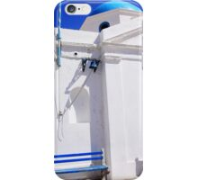 Blue and White iPhone Case/Skin