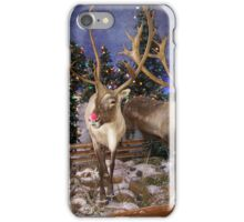 Rudolph, The Red Nosed Reindeer iPhone Case/Skin